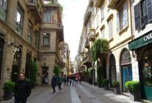 Via Brera a Milano